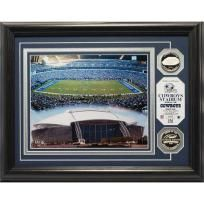 Limited Edition Cowboys Stadium Silver Coin Photo Mint