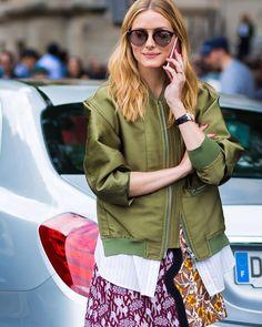 #New on #STYLEDUMONDE http://www.styledumonde.com with @oliviapalermo #OliviaPalermo at #paris #fashionweek #pfw #outfits #floral #looks #streetstyle #streetfashion #mode