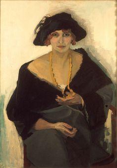 Kees van Dongen, Portrait of a Woman 1903 (fauvism) Woman Painting, Figure Painting, Painting & Drawing, Art Fauvisme, L'art Du Portrait, Figurative Kunst, Raoul Dufy, Guache, Dutch Painters