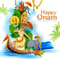 Colorful holiday banner background for Happy Onam religious festival of South India Kerala Gold Wallpaper Background, Hipster Wallpaper, Disney Wallpaper, New Good Night Images, Good Morning Beautiful Pictures, Onam Festival Kerala, Onam Pictures, Happy Onam Images, Happy Onam Wishes