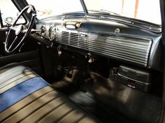 Lovely 1951 3100 Chevy Truck Interior