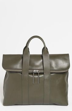 Gorgeous Phillip Lim large olive tote. Perfect for fall!