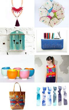 Neon Summer by Delia on Etsy--Pinned with TreasuryPin.com