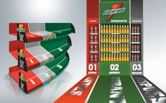Design of Gatorade Point of Purchase Materials