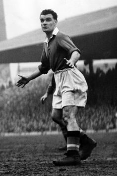 Stan Pearson, one of @manutd's prolific goalscorers ever, was also captain of the Reds during the final season of his career, 1953/54. Signed in 1935, Salford-born Pearson would go on to score a phenomenal 149 goals in 343 games. This stat is made all the more impressive given that Pearson was away from Old Trafford for five years during the Second World War. The striker left for Bury in 1954 with a League and FA Cup winners medal to his name.
