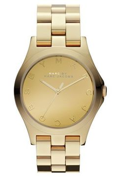 Montre pour femme : MARC BY MARC JACOBS 'Henry Glossy' Bracelet Watch available at Nordstrom