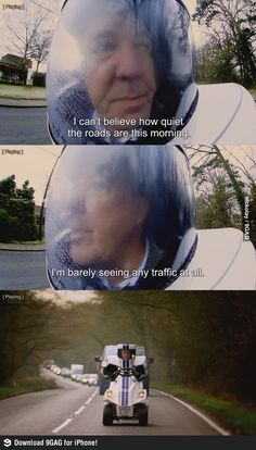No traffic (Top gear)