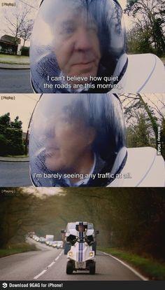 No traffic (Top gear)