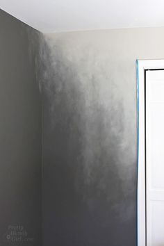 How to Paint an Ombré Wall Technique