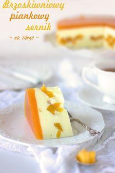 Eton Mess z jagodami Polish Recipes, No Bake Cake, Cantaloupe, Ale, Sweet Tooth, Cheesecake, Pudding, Sweets, Baking