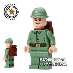 Lego Indiana Jones Mini Figure - Russian Guard 3 | Indiana Jones LEGO Minifigures | LEGO Minifigures | FireStar Toys