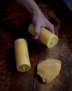 Handcrafting beeswax candles for a living has been more rewarding than working ten years in webdesign (not on a financial side though). 🐝🌿💛 Fabriquer des bougies en cire d'abeille m'épanouit plus que mes 10 années passées en webdesign. Honey Soap, Beeswax Candles, Product Offering, Artisanal, Soaps, Pure Products, Handmade, Food, Bee