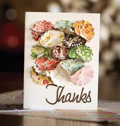 Thanks Card by Paige Evans