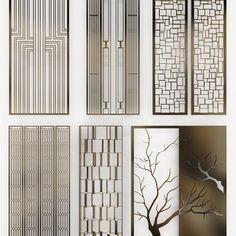 59 ideas wall paneling design interiors window for 2019 Window Grill Design, Screen Design, Wall Design, Partition Screen, Room Partition Designs, 3d Modelle, Metal Screen, Interior Windows, False Ceiling Design