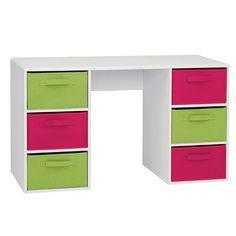 Zany 6-Bin Student Desk