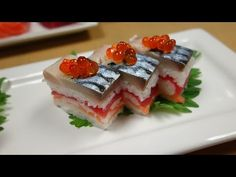 Master Sushi Chef Hiroyuki Terada makes our Osaka Sushi plate and shows you the ingredients and how this is done. You'll need the oshisushi pieces to make th...