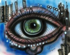 Eye- Jon Baldwin Art!