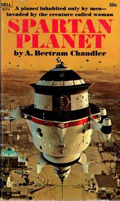 JOHN BERKEY - art for Spartan Planet - 1969 Dell Books