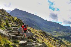 Pyg Track Walking Route up Snowdon