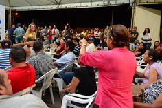Prefeitura de Boa Vista, prefeita Teresa Surita se reúne com mais de 350 moradores do Caranã #pmbv #prefituraboavista #boavista #roraima #bracosAbertos