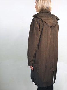 WATERDICHT Amsterdam  Straincoat Urban Classic, stylish raincoat - Hood: detachable and adjustable to a Fisherman's hat