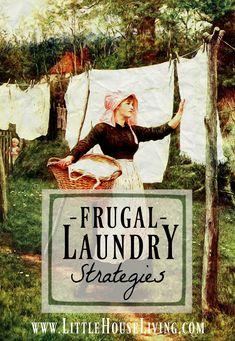 Frugal Laundry Strategies