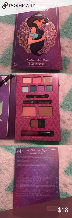 E.L.F jasmine a whole new world beauty book New and never been used. No trades. Feel free to ask any questions before purchasing ELF Makeup Eyeshadow