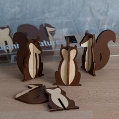 NEW FOR FALL 2013 - Add a touch of woodland magic to your decor with these charming diecut squirrels. Perfect for your fall table or as small party favors. http://www.fancyflours.com/product/woodland-squirrel-creatures/Autumn-party-theme