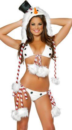Snowman Bikini