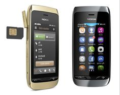 Android phones update - Finnish company Nokia presents its two new mobile touch economy, the Asha 208 and Asha 309 .      With the launch of these models,Nokia covers the market for low-cost phones, so indispensable in this world so expensive.