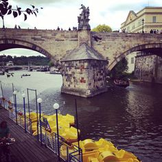 Paddle boats in Prague ive been to this exact place!!!