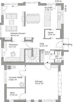 Fertighaus Marienstraße - Erdgeschoss - Gussek Haus | Architektur ...