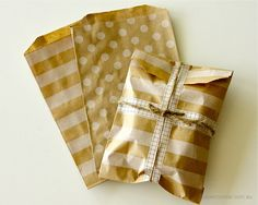 Paper Bags - Pattern Kraft