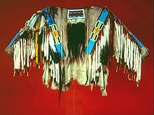Nez Perce people - A traditional beaded  Shirt.