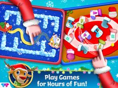 Christmas Apps, Christmas Activities, Christmas Holidays, Messy Bedroom, Messy House, Holiday Games, Santa's Little Helper, Beautiful Christmas Trees, Games To Play