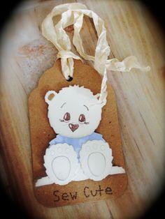 Cute Teddy Tags xx