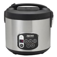 Aroma ARC-1010SB 20-Cup (Cooked) Digital Rice Cooker and Food Steamer - The chosen one.