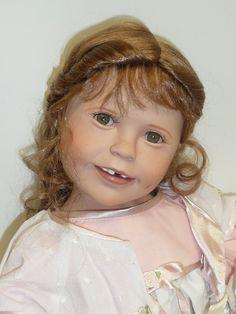 "Ashton Drake ""Tooth Fairy Dreams for Emma"" designed by Julie Fischer w/Tag #ashtondrake"