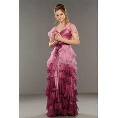 Harry Potter Hermione Granger Yule robe robe de bal de skycostume, http://www.amazon.fr/dp/B0090WX8CG/ref=cm_sw_r_pi_dp_newysb1KVE14D