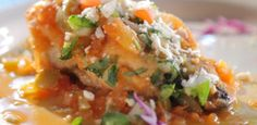 Chiles Poblanos Rellenos from Food Network