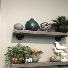 Rustic Industrial Floating Shelves Floating Shelf Wall Shelves Industrial Pipe Shelving Rustic Wood Shelf Housewarming Gift New Home Decor Rustic Wood, Decor, Rustic Wall Shelves, Entryway Shoe Storage, Shelves, Industrial Shoe Rack, Industrial Floating Shelves, House Warming Gifts, Home Decor