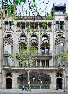 Casa Thomas | Barcelona de | Lluís Domènech i Montaner .  Catalonia