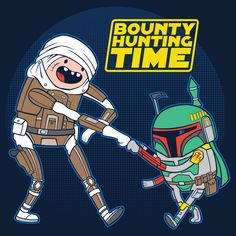Bounty Hunting Time - NeatoShop