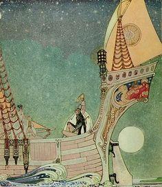 Kay Nielsen. Illustrations.