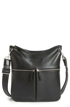 Longchamp  Veau  Leather Crossbody Bag Online Outlet bb1b587b0b0c2