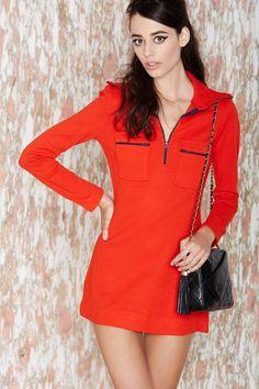 Vintage Red Herring Dress