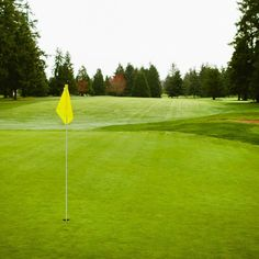 On the course at Oakbrook Golf Club, Lakewood, WA.