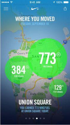 Heat Map by Nike › PatternTap