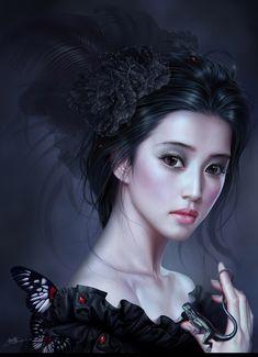 melanie delon | Fantasy Art Yuehui Tang