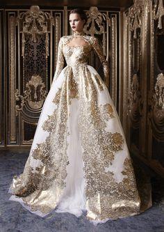 Beautiful! Rami Kadi 2013 Au Bal Des Orchidees Noires Collection #fashion #photography
